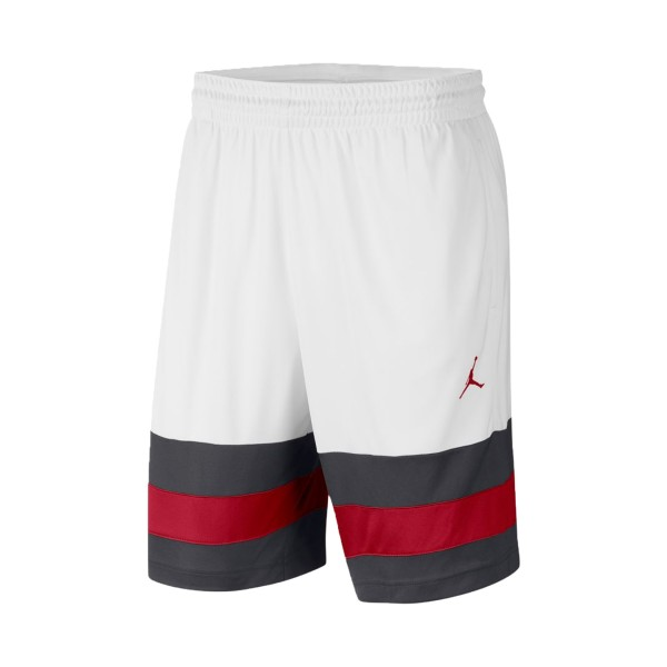 Jordan Jumpman Basketball Short White