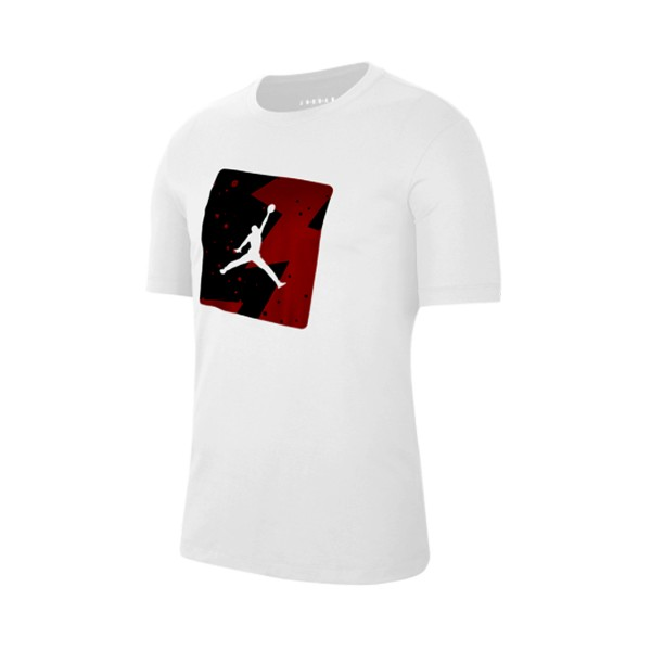 Jordan Poolside Crew T-Shirt White