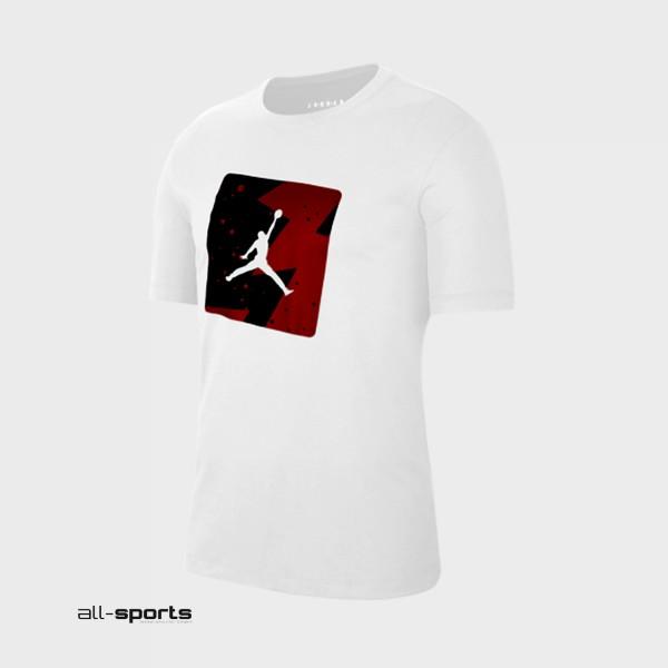Jordan Poolside Crew T-Shirt White