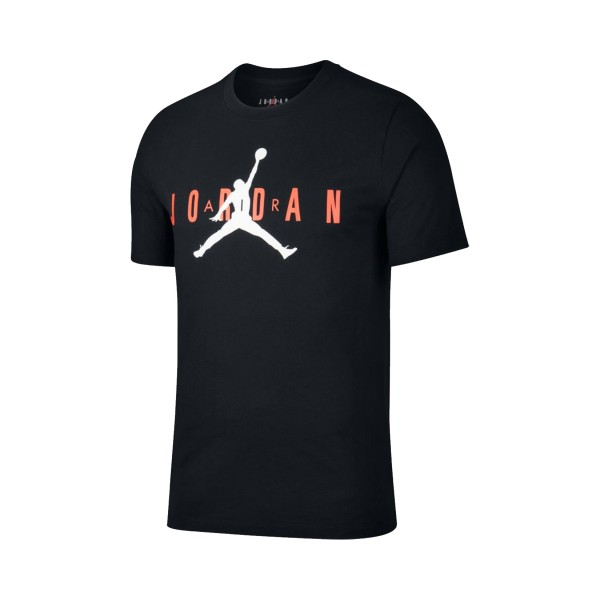Jordan Air Wordmark T-Shirt Black