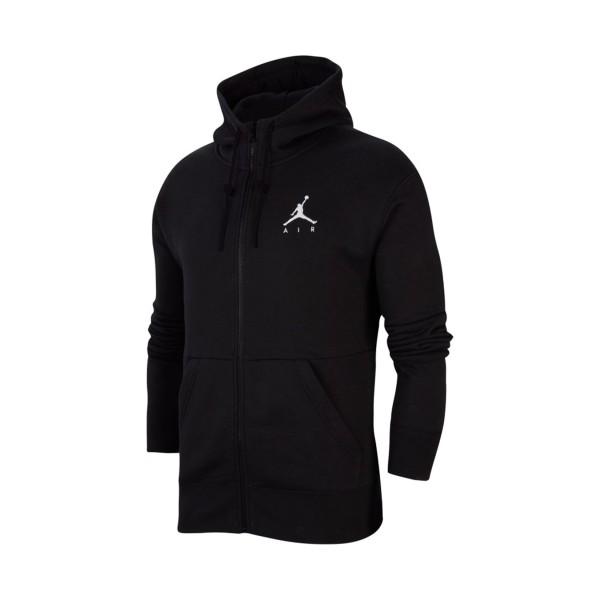Jordan Jumpman Air Fleece Full-Zip Hoodie Black