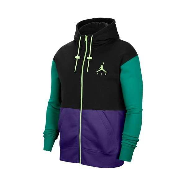 Jordan Jumpman Air Fleece Full-Zip Hoodie Multicolor