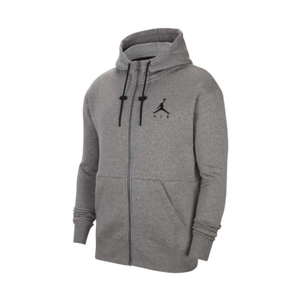 Jordan Jumpman Air Fleece Full-Zip Hoodie Grey