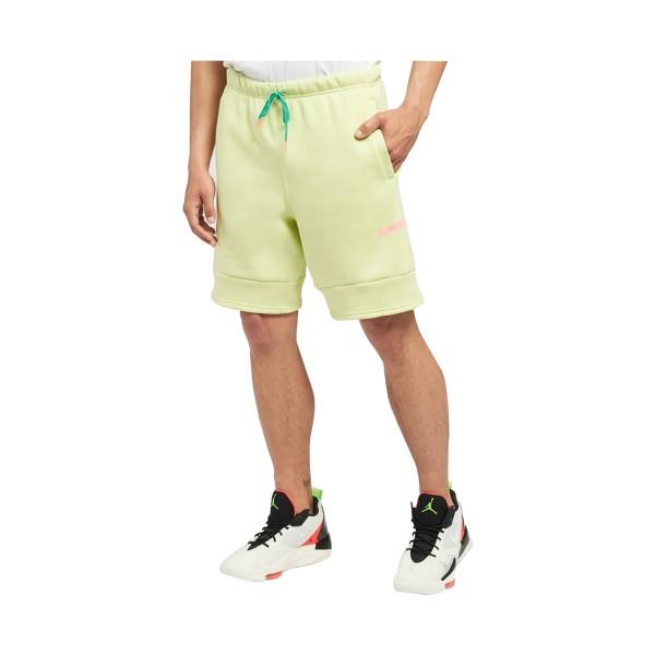 Jordan Jumpman Air Fleece Shorts Lime