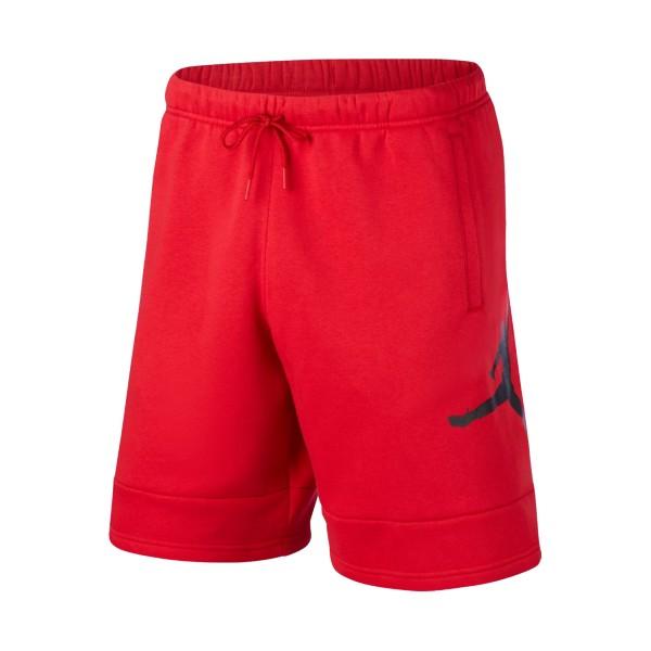 Jordan Jumpman Air Fleece Shorts Red