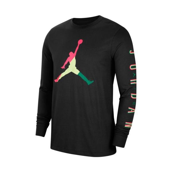 Jordan Sport DNA Long Sleeves Shirt Black
