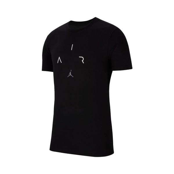 Jordan Air Short-Sleeve Crew Black