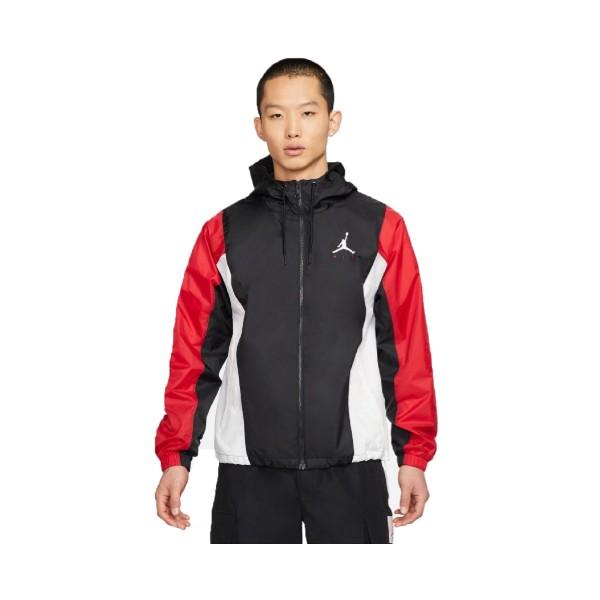 Jordan Jumpman Air  Windbreaker Jacket Black - Red