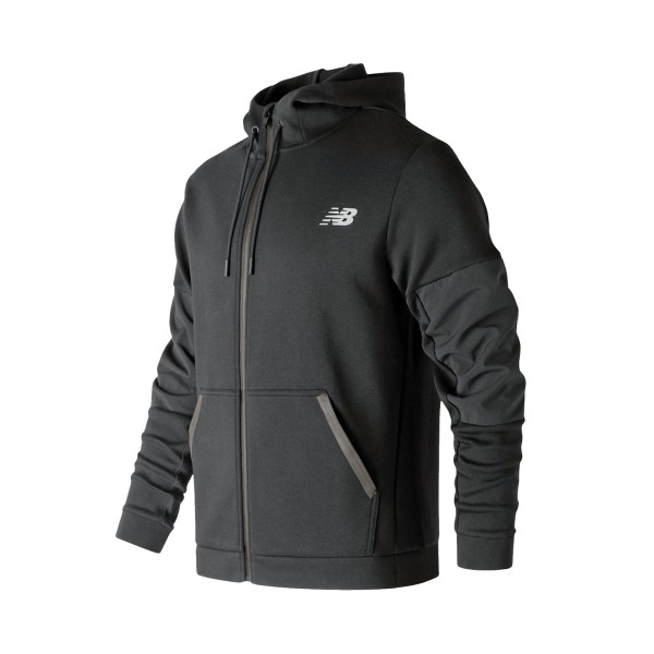 New Balance 247 Sport Full-Zip Jacket Black