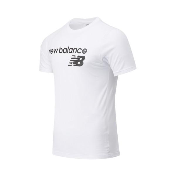 New Balance Classic Core Logo Tee White