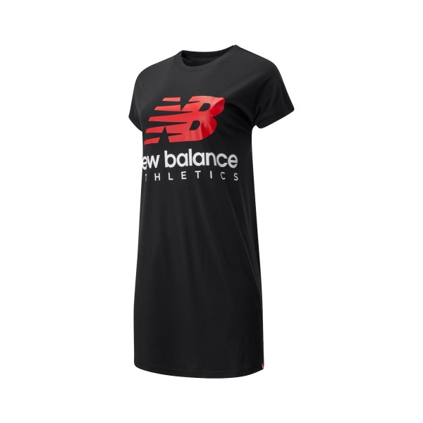 New Balance Essential Icon Tee Dress Black