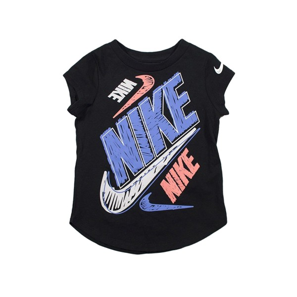 Nike Bold Scribble Tee Black