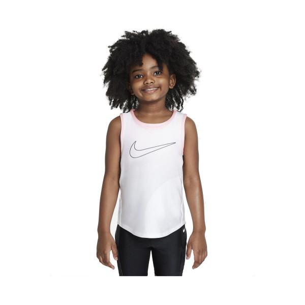 Nike Little Kids Tank Λευκο