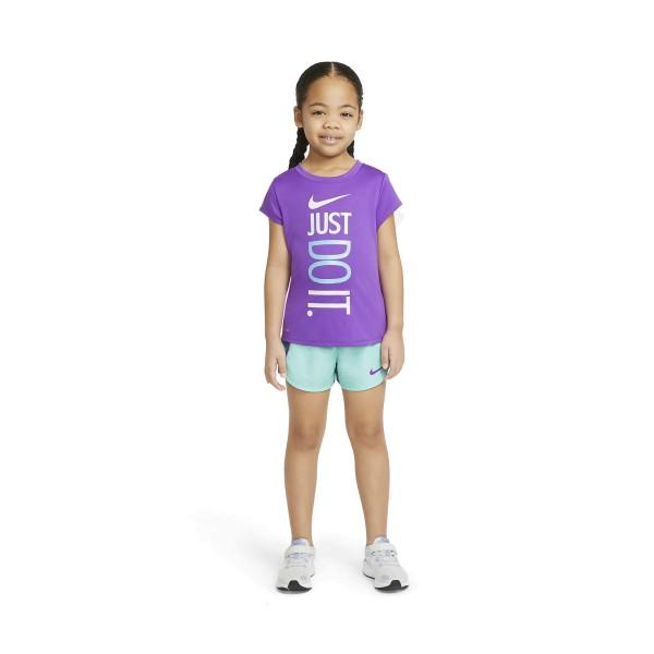 Nike Just Do It Dri-Fit Set Purple - Light Blue