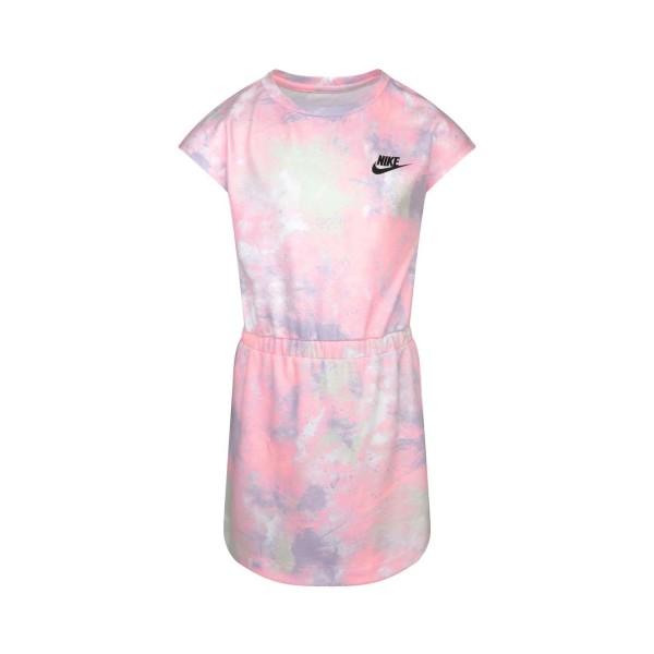 Nike Sky Dye Knit Dress Pink