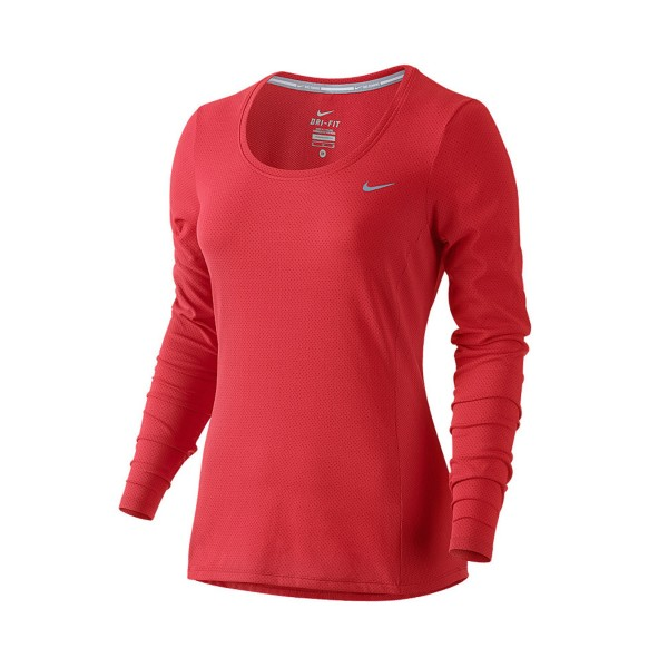 Nike Dry Contour Running Woman Red