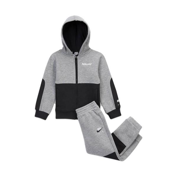 Nike NKB Air Crew Infants Set Grey - Black