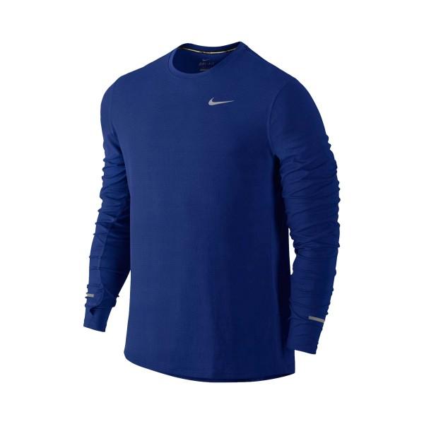 Nike Dry Contour Running Deep Blue