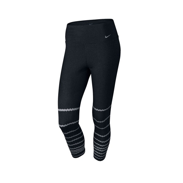 Nike Legend Tight Burnout Carpi Black