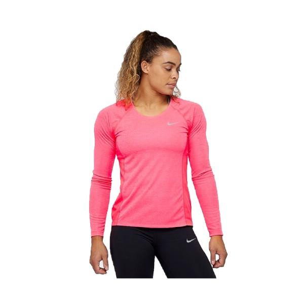 Nike Dry Fit Longsleeve Top Racer Pink