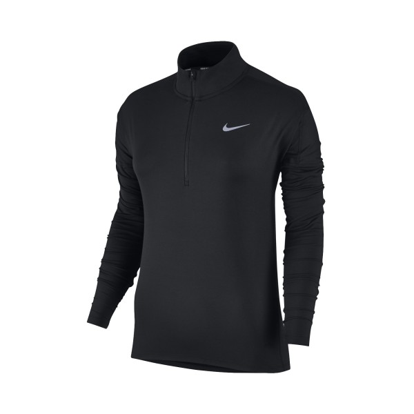 Nike Dry - Fit Element Long Sleeve Half-Zip Black