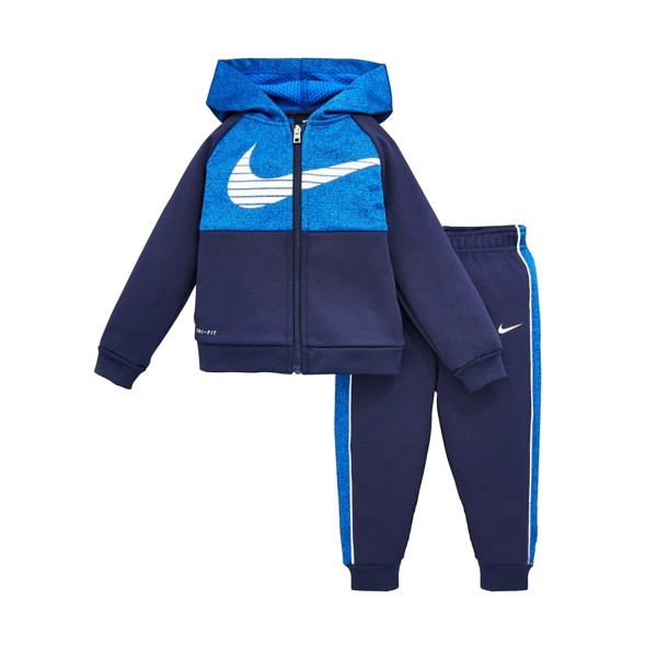 Nike Colorblock Therma HTR Kids Set Blue
