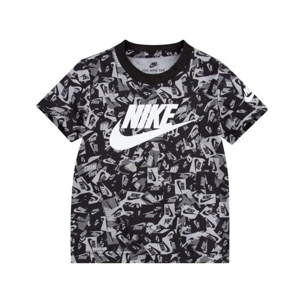 Nike Swoosh Label Confetti Tee Black