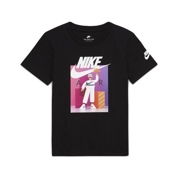 Nike Air Tee K Μαυρο