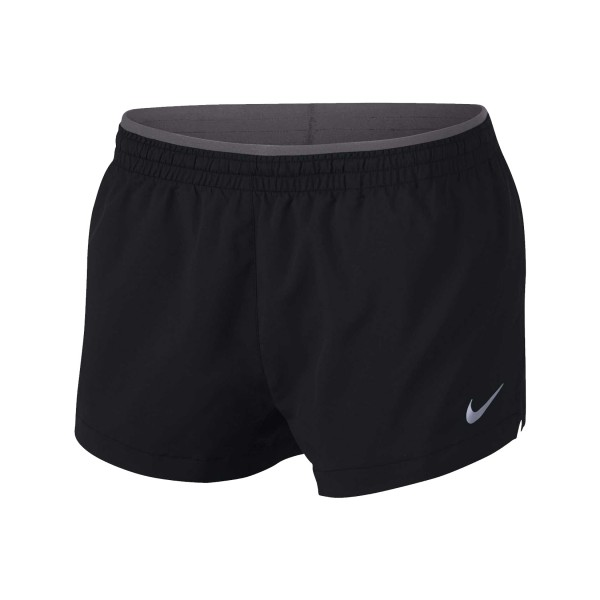 Nike Elevate Track Running Shorts Black - Grey
