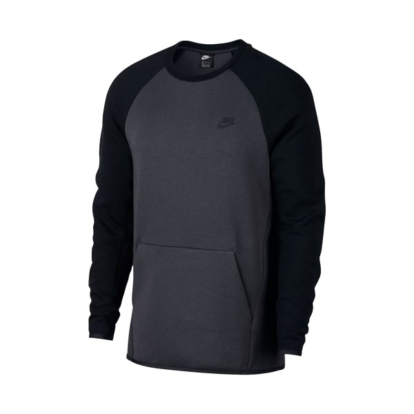 Nike Sportswear Crew Fleece Grey - Black