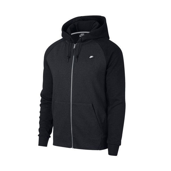Nike Sportswear Optic Fleece  Hoodie Fz Black