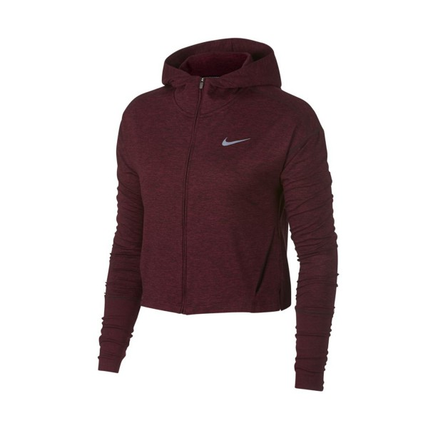 Nike Sportswear Element Full Zip Jacket Burgundy