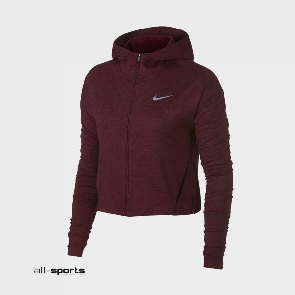 Nike Sportswear Element Full Zip Jacket Burgundy
