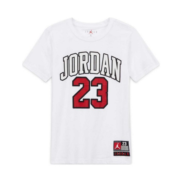 Jordan Practice Flight T-Shirt GS White