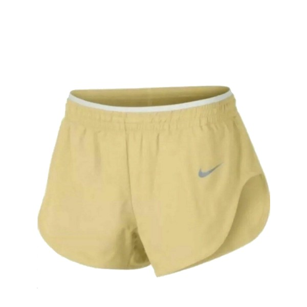 Nike Elevate Track Running Shorts Yellow