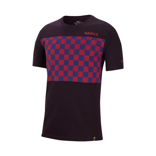 Nike FC Barcelona Travel Crest Burgundy