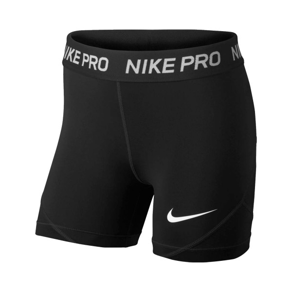 Nike Pro Older Kids Training Shorts Black