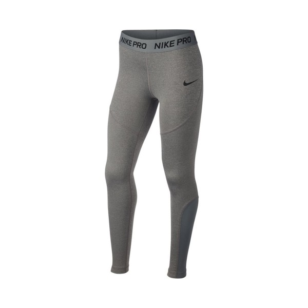 Nike Pro Tight Big Girls Grey