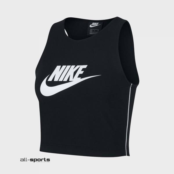 Nike Sportswear Heritage Tank Black