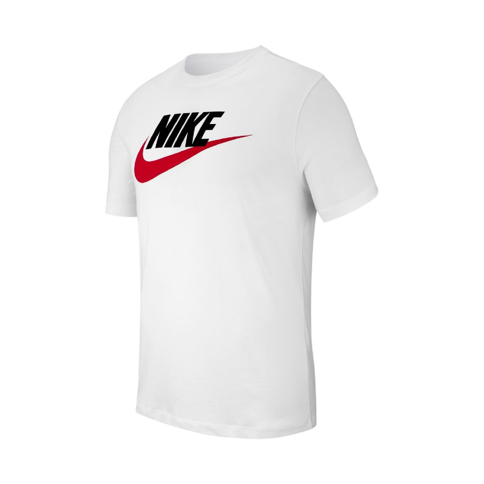 Nike Sportswear T-Shirt White - Red