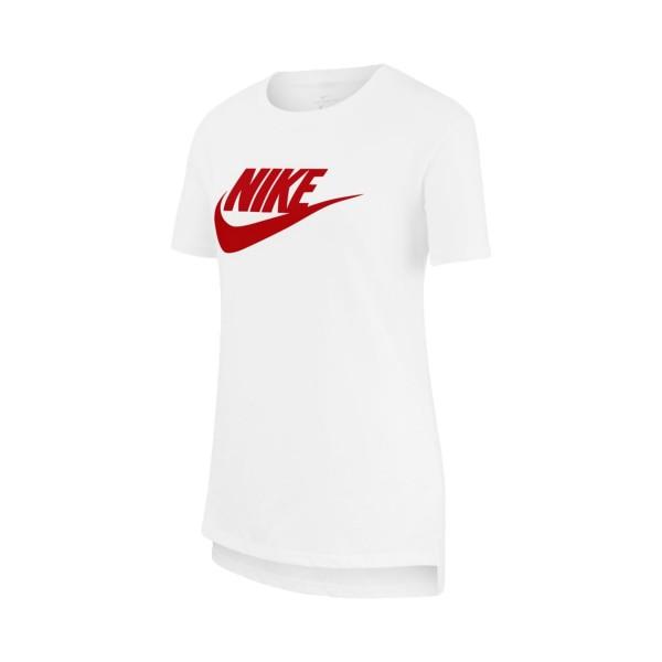 Nike Sportswear Futura Kids' Tee White