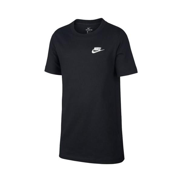 Nike Sportswear Classic Tee Kids Μαυρο