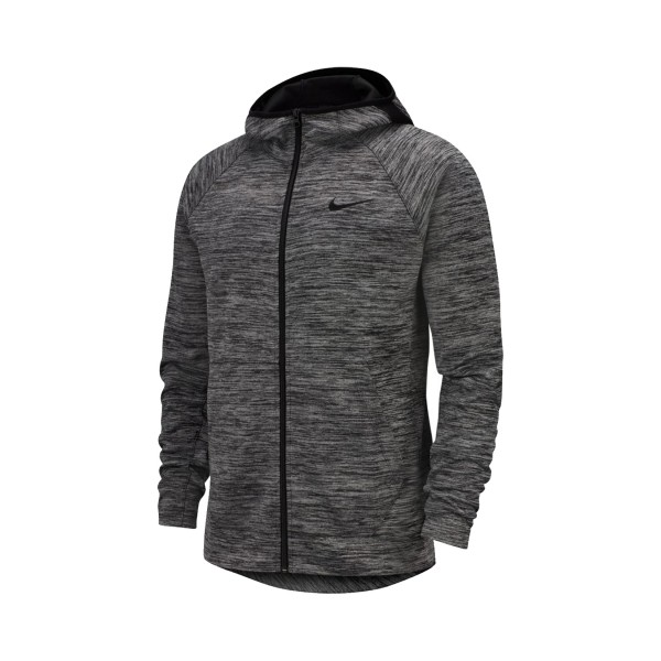 Nike Spotlight Full-Zip Basketball Hoodieγ Grey