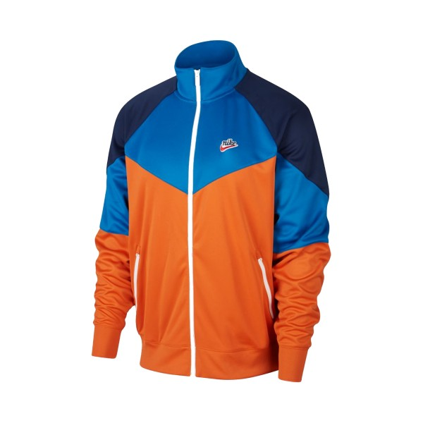Nike Sportswear Windrunner Blue - Orange