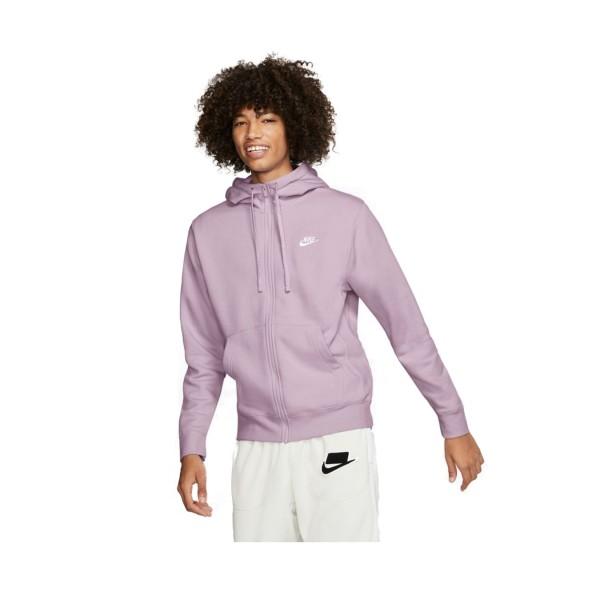 Nike Sportswear Club Fleece Full Zip Lilac