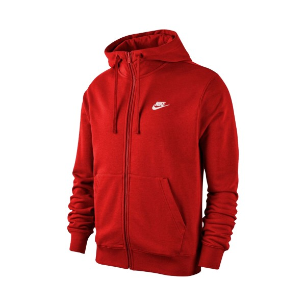 Nike Sportswear Club Fleece Red