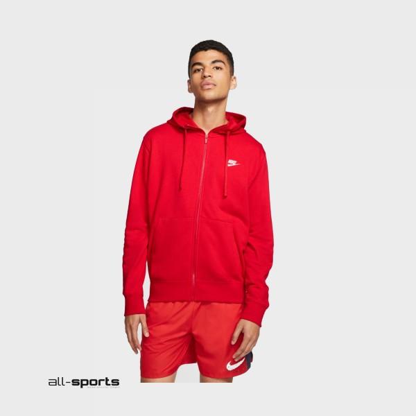 Nike Sportswear Club Fleece Red