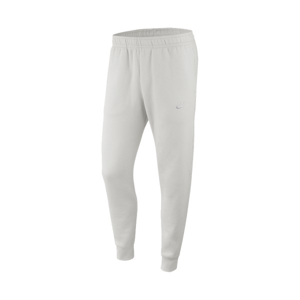 Nike Sportswear Jogger Club Fleece Pants Slim White