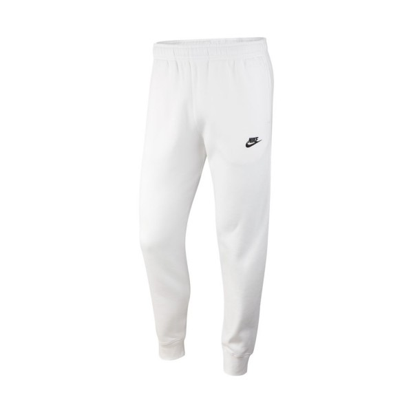 Nike Sportswear Jogger Club Fleece Pants Slim White
