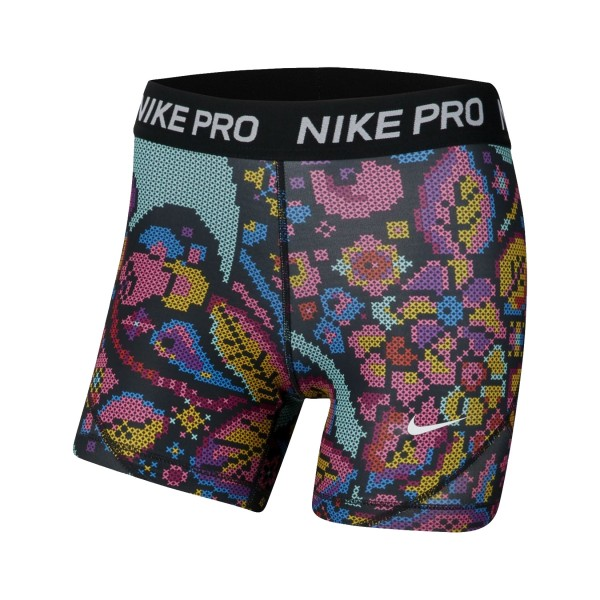 Nike Pro Tight Training Big Kids Short Multicolor